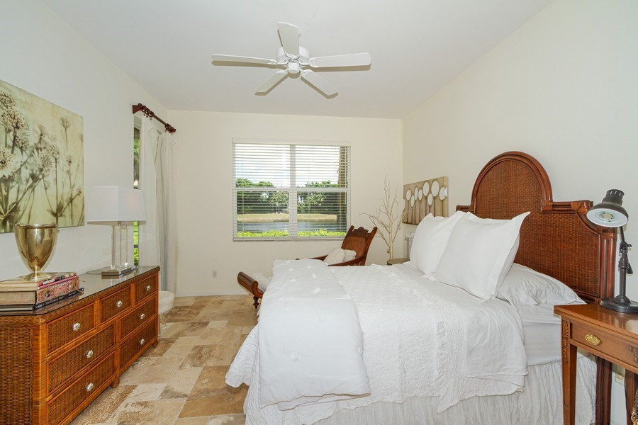 Real Estate Photography - 2310 Carrington Ct #101, Naples, FL, 34109 - Master Bedroom