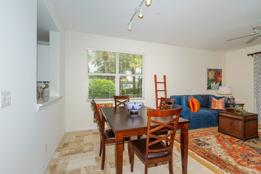 Real Estate Photography - 2310 Carrington Ct #101, Naples, FL, 34109 - Dining Room
