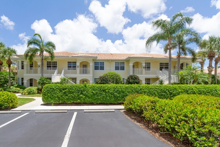 Real Estate Photography - 2310 Carrington Ct #101, Naples, FL, 34109 - Front View
