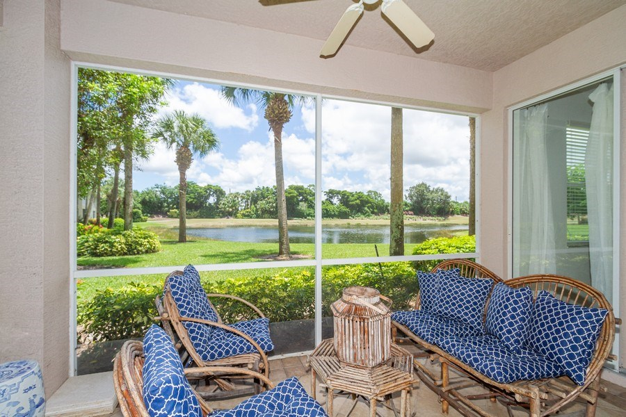Real Estate Photography - 2310 Carrington Ct #101, Naples, FL, 34109 - Lanai