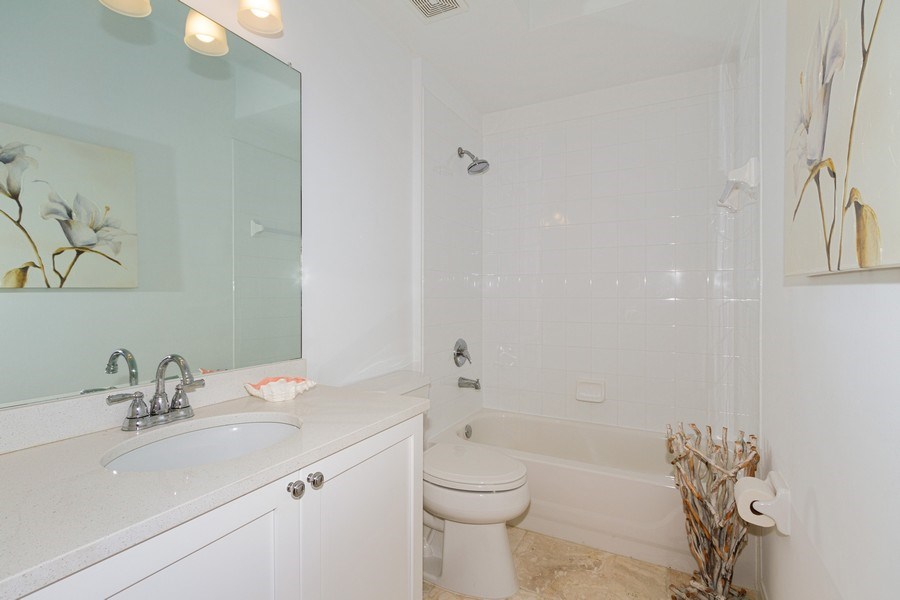 Real Estate Photography - 2310 Carrington Ct #101, Naples, FL, 34109 - Bathroom