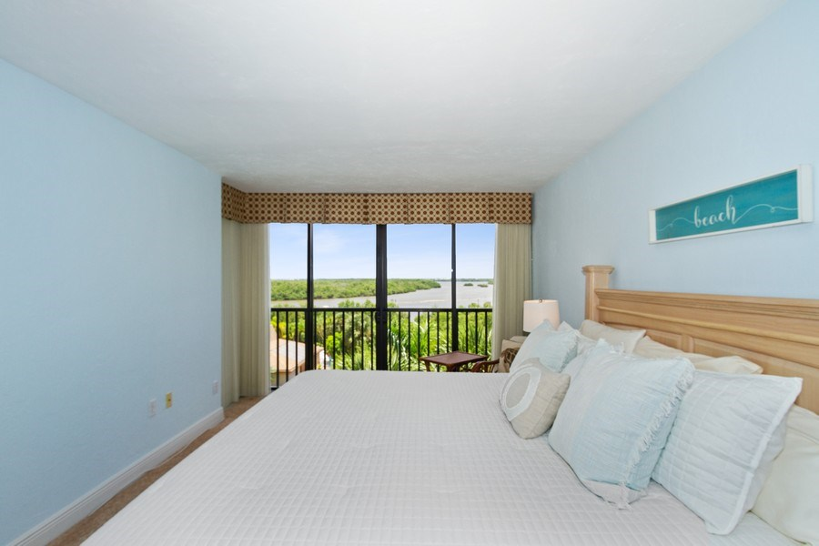 Real Estate Photography - 26171 Hickory Blvd, Unit 4A, Bonita Springs, FL, 34134 - Master Bedroom