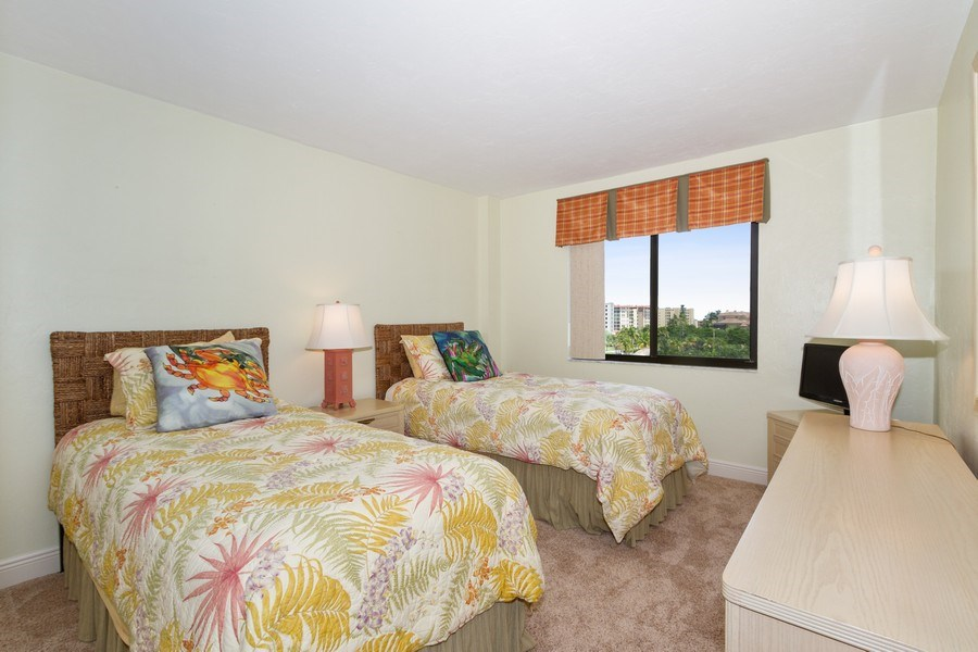 Real Estate Photography - 26171 Hickory Blvd, Unit 4A, Bonita Springs, FL, 34134 - Bedroom