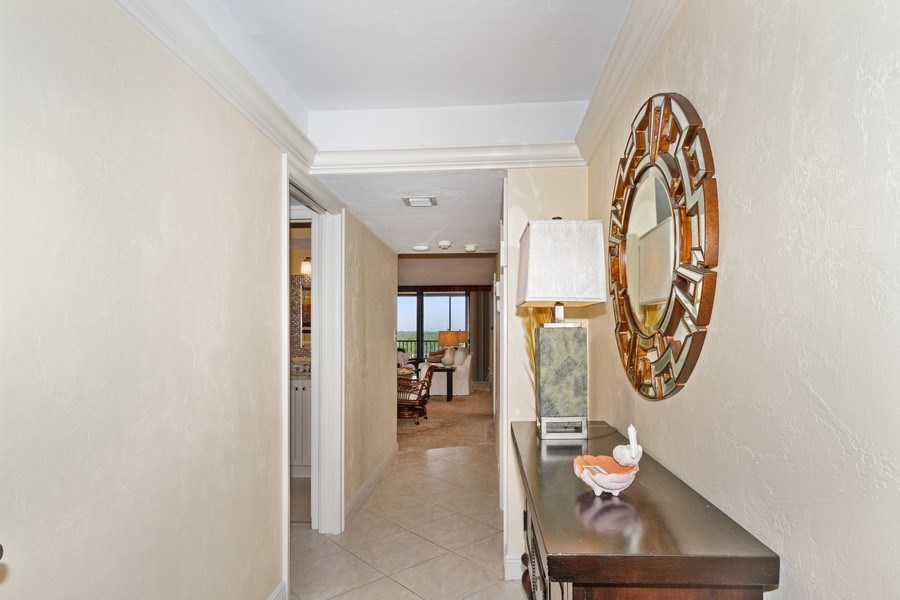 Real Estate Photography - 26171 Hickory Blvd, Unit 4A, Bonita Springs, FL, 34134 - Hallway
