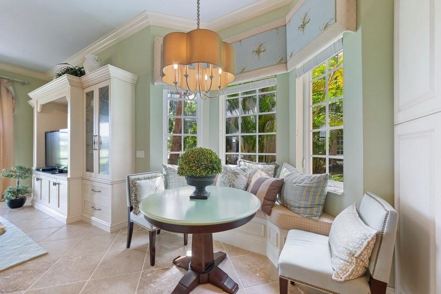 Real Estate Photography - 9284 Menaggio Ct, Unit 102, Naples, FL, 34114 - Breakfast Area
