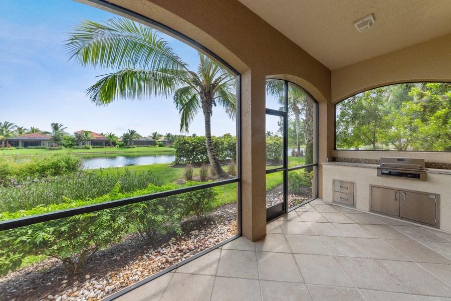 Real Estate Photography - 9284 Menaggio Ct, Unit 102, Naples, FL, 34114 - Rear View