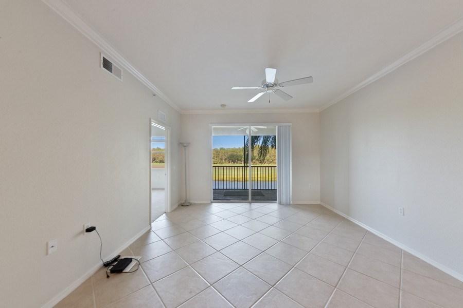 Real Estate Photography - 10285 Heritage Bay Blvd, Unit 825, Naples, FL, 34120 - Living Room