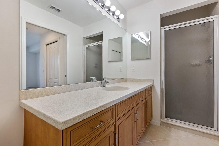 Real Estate Photography - 10285 Heritage Bay Blvd, Unit 825, Naples, FL, 34120 - Master Bathroom