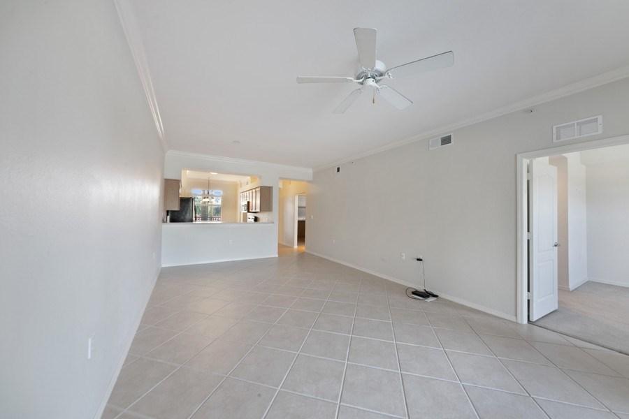 Real Estate Photography - 10285 Heritage Bay Blvd, Unit 825, Naples, FL, 34120 - Family Room