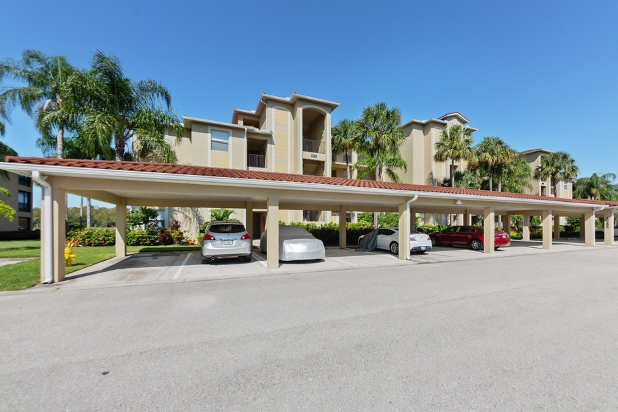 Real Estate Photography - 10285 Heritage Bay Blvd, Unit 825, Naples, FL, 34120 - Front View