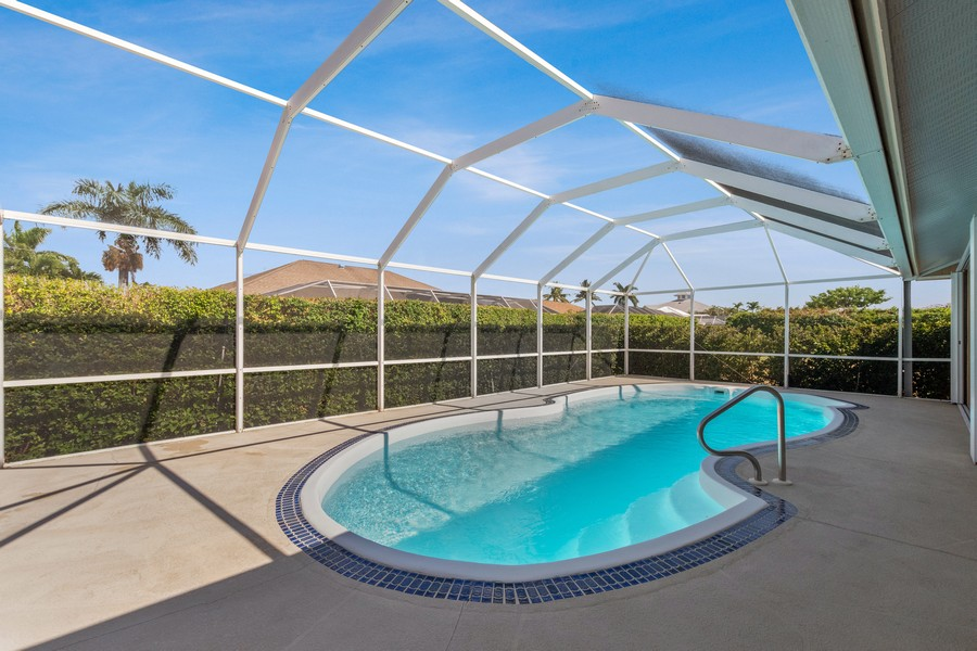 Real Estate Photography - 143 Balfour Drive, Marco Island, FL, 34145 - Pool