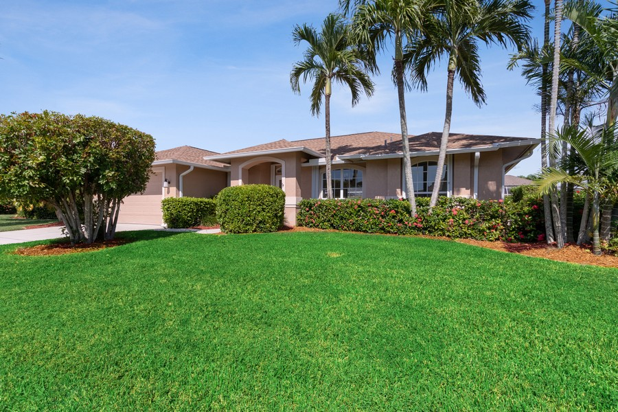 Real Estate Photography - 143 Balfour Drive, Marco Island, FL, 34145 - Front View