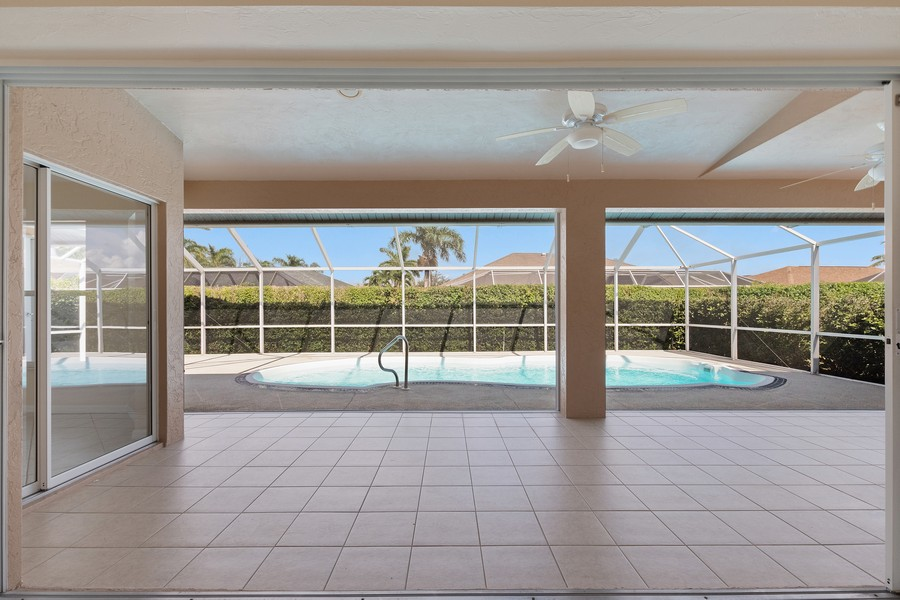 Real Estate Photography - 143 Balfour Drive, Marco Island, FL, 34145 - Patio