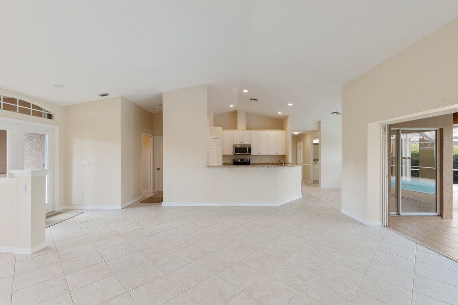 Real Estate Photography - 143 Balfour Drive, Marco Island, FL, 34145 - Kitchen / Living Room