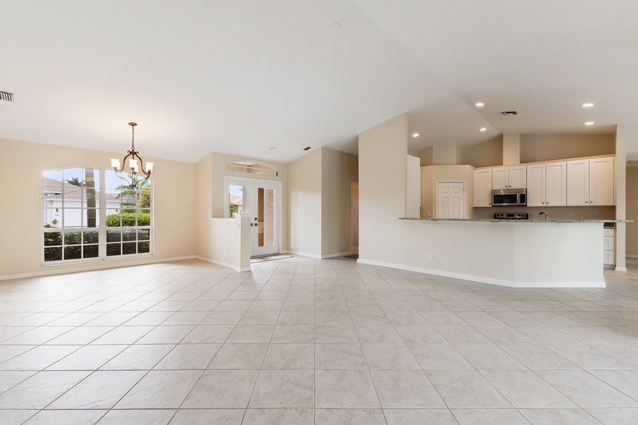 Real Estate Photography - 143 Balfour Drive, Marco Island, FL, 34145 - Living Room/Dining Room
