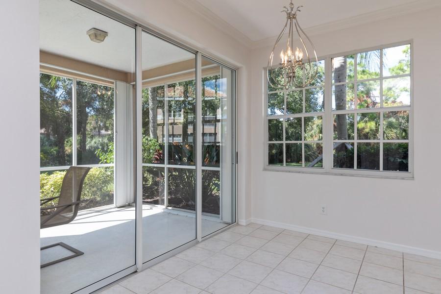 Real Estate Photography - 25090 Ballycastle Ct #103, Bonita Springs, FL, 34134 - Breakfast Area