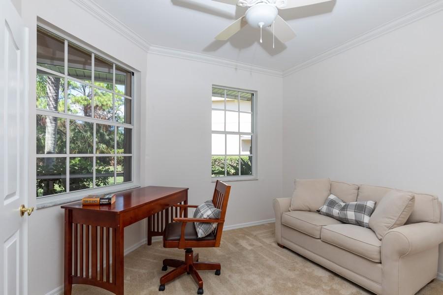 Real Estate Photography - 25090 Ballycastle Ct #103, Bonita Springs, FL, 34134 - Den