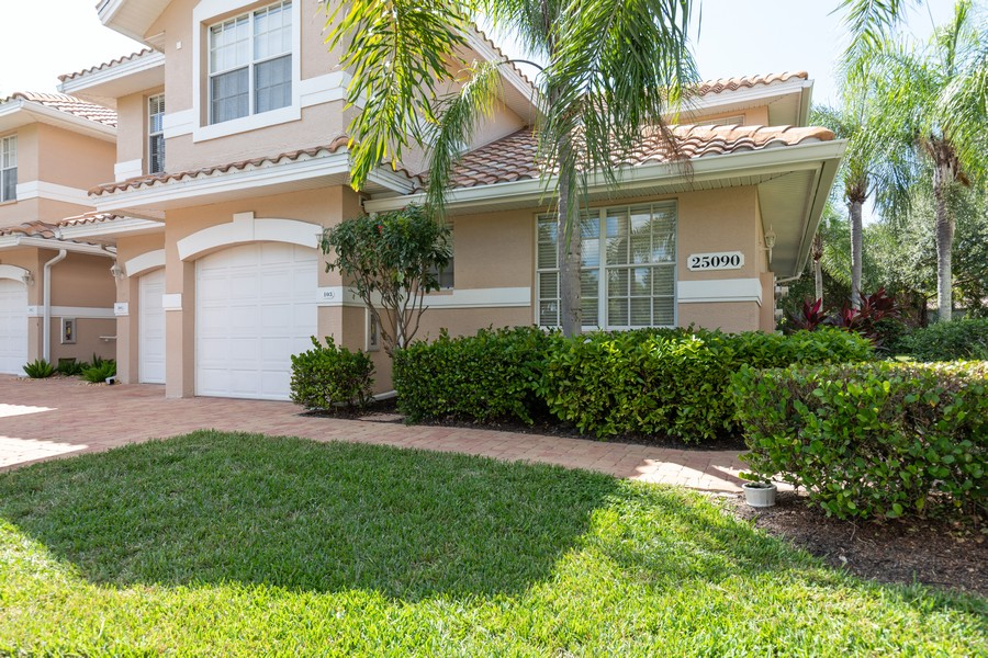 Real Estate Photography - 25090 Ballycastle Ct #103, Bonita Springs, FL, 34134 - Front View