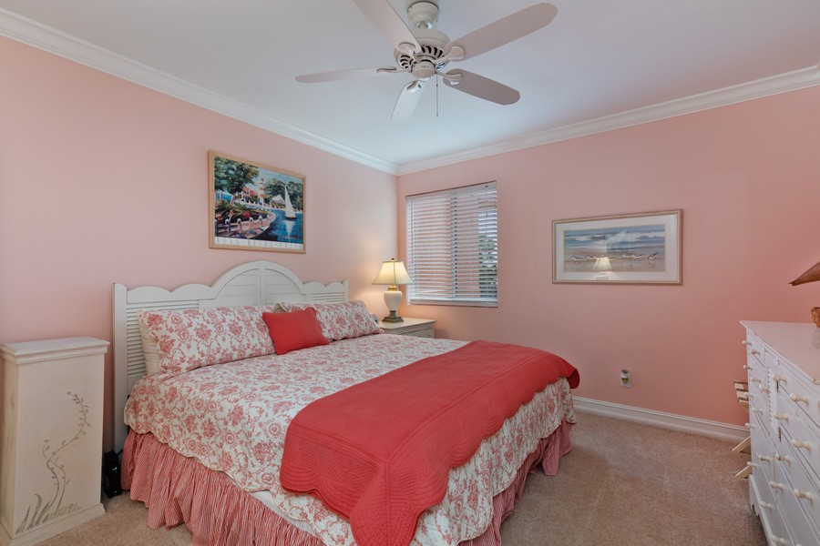 Real Estate Photography - 9400 Gulf Shore Dr #2, Naples, FL, 34108 - 2nd Bedroom