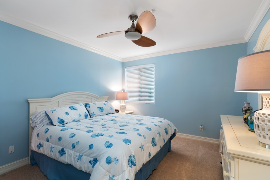 Real Estate Photography - 9400 Gulf Shore Dr #2, Naples, FL, 34108 - 3rd Bedroom