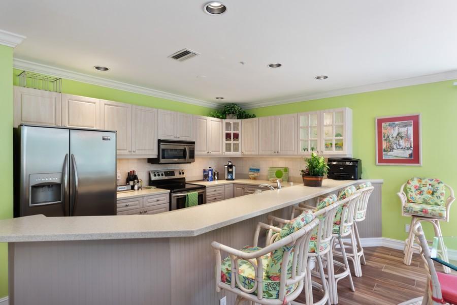 Real Estate Photography - 9400 Gulf Shore Dr #2, Naples, FL, 34108 - Kitchen