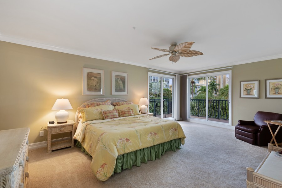 Real Estate Photography - 9400 Gulf Shore Dr #2, Naples, FL, 34108 - Master Bedroom