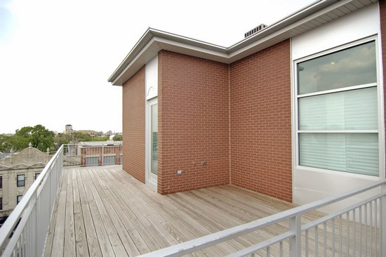 Real Estate Photography - 1725 W Division St, Unit 301, Chicago, IL, 60622 - Deck