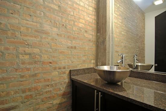 Real Estate Photography - 1725 W Division St, Unit 301, Chicago, IL, 60622 - Half Bath