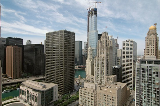 Real Estate Photography - 240 E Illinois, Unit 2603, Chicago, IL, 60611 - City View