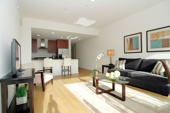 Real Estate Photography - 240 E Illinois, Unit 2603, Chicago, IL, 60611 - Living Room