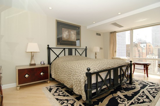 Real Estate Photography - 21 W Goethe, Unit 18G, Chicago, IL, 60610 - Master Bedroom