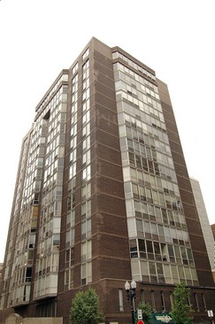 Real Estate Photography - 21 W Goethe, Unit 18G, Chicago, IL, 60610 - Front View