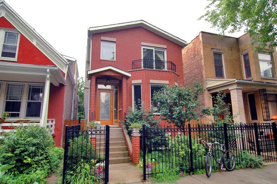 Real Estate Photography - 2617 N Richmond Ave, Chicago, IL, 60622 - Front View