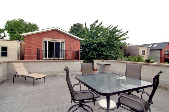 Real Estate Photography - 2617 N Richmond Ave, Chicago, IL, 60622 - Deck
