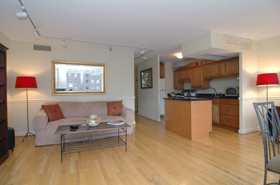 Real Estate Photography - 21 W Goethe, Unit 7G, Chicago, IL, 60610 - Living Rm/Family Rm