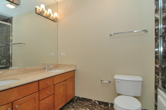Real Estate Photography - 1029 N Kingsbury, Chicago, IL, 60610 - Master Bathroom