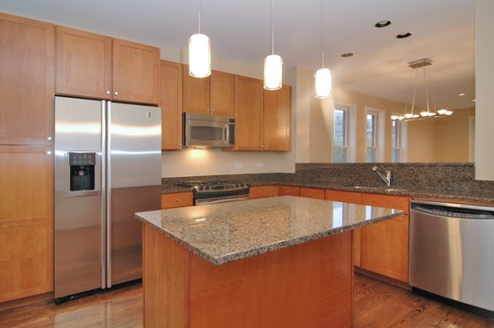 Real Estate Photography - 1029 N Kingsbury, Chicago, IL, 60610 - Kitchen