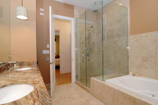 Real Estate Photography - 2037 W Race Ave, Chicago, IL, 60622 - Master Bathroom