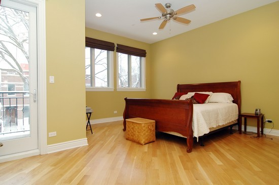 Real Estate Photography - 2037 W Race Ave, Chicago, IL, 60622 - Master Bedroom
