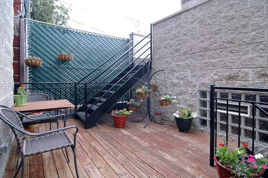 Real Estate Photography - 2037 W Race Ave, Chicago, IL, 60622 - Terrace 2