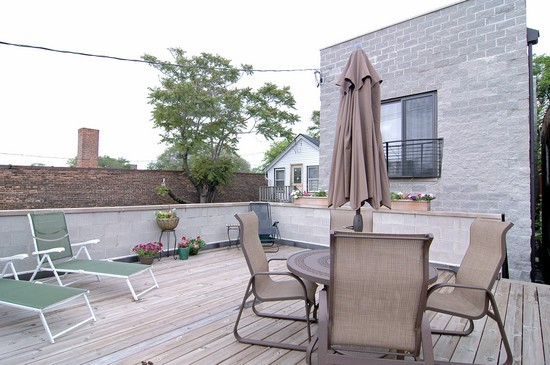 Real Estate Photography - 2037 W Race Ave, Chicago, IL, 60622 - Terrace 3