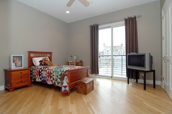 Real Estate Photography - 2037 W Race Ave, Chicago, IL, 60622 - 2nd Bedroom