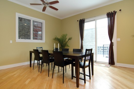 Real Estate Photography - 2037 W Race Ave, Chicago, IL, 60622 - Dining Room