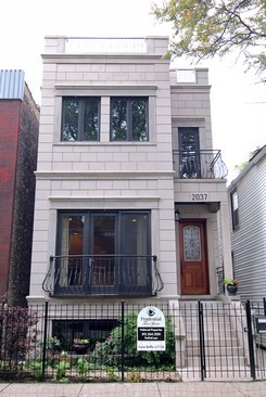 Real Estate Photography - 2037 W Race Ave, Chicago, IL, 60622 - Front View