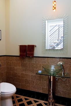 Real Estate Photography - 2037 W Race Ave, Chicago, IL, 60622 - Half Bath