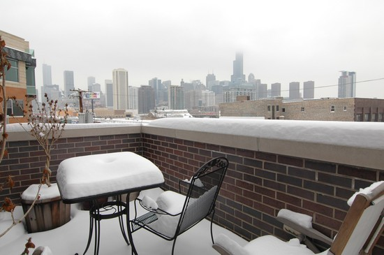 Real Estate Photography - 932 W Hubbard St, Chicago, IL, 60642 - Terrace