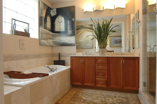 Real Estate Photography - 932 W Hubbard St, Chicago, IL, 60642 - Master Bathroom