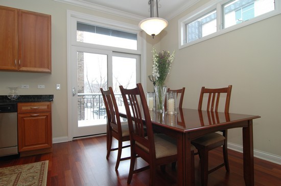 Real Estate Photography - 932 W Hubbard St, Chicago, IL, 60642 - Dining Room