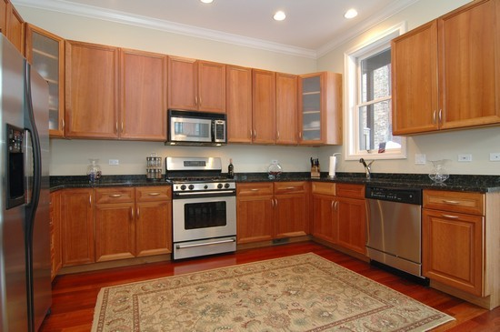 Real Estate Photography - 932 W Hubbard St, Chicago, IL, 60642 - Kitchen