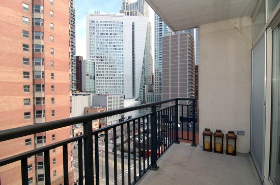 Real Estate Photography - 21 W Chestnut St, Unit 907, Chicago, IL, 60610 - Balcony